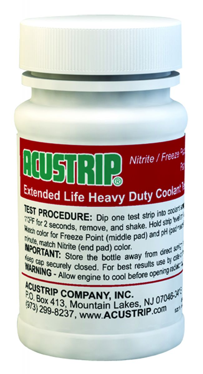 Red Heavy Duty Coolant Extended Life Test Strips # 80200